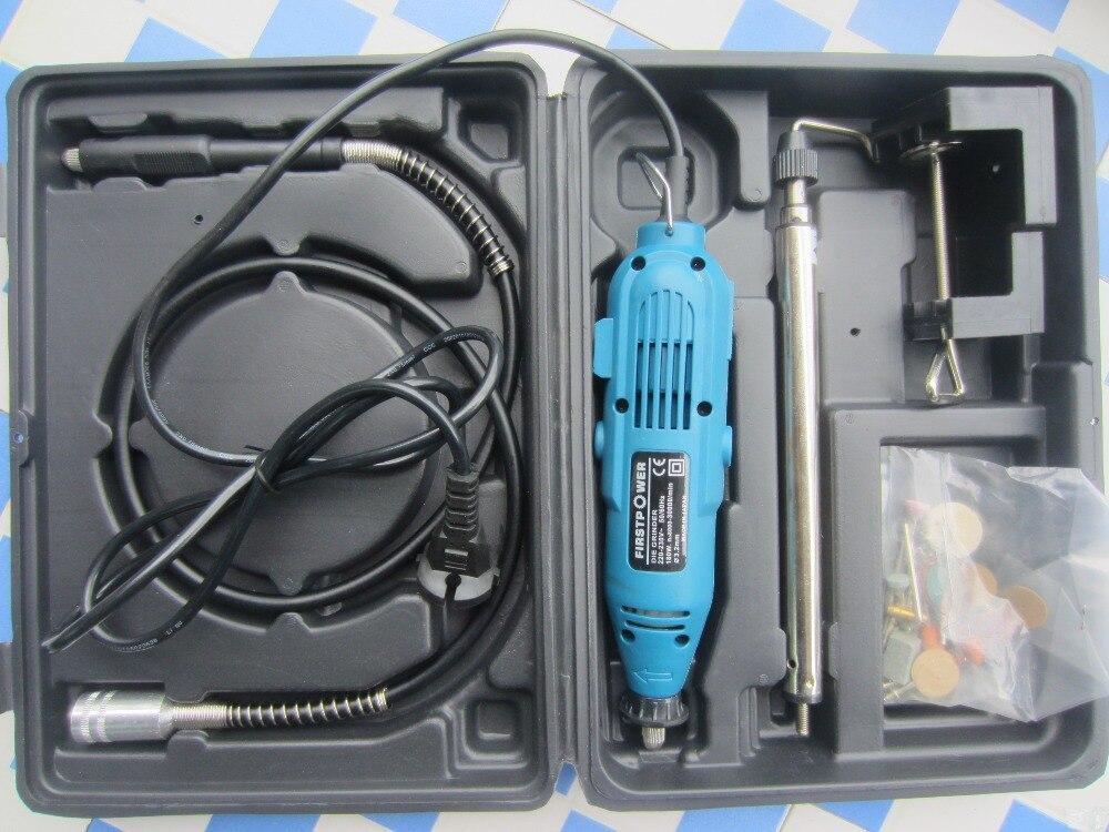 Mini Electric Die Grinder Set In Abrasive Tool Excellent Dremel Rotary Tool Kit Dental Polishing Burnishing Grinding Machine Cooperative 110/220v Quality