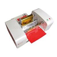 TJ-256 цифровая машина для горячего тиснения фольгой позолоченный планшетный принтер пресс-машина