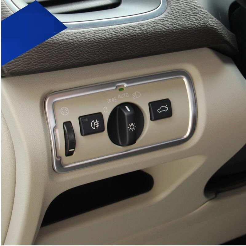 Suitable for Volvo V40 modified headlight control switch decorative frame