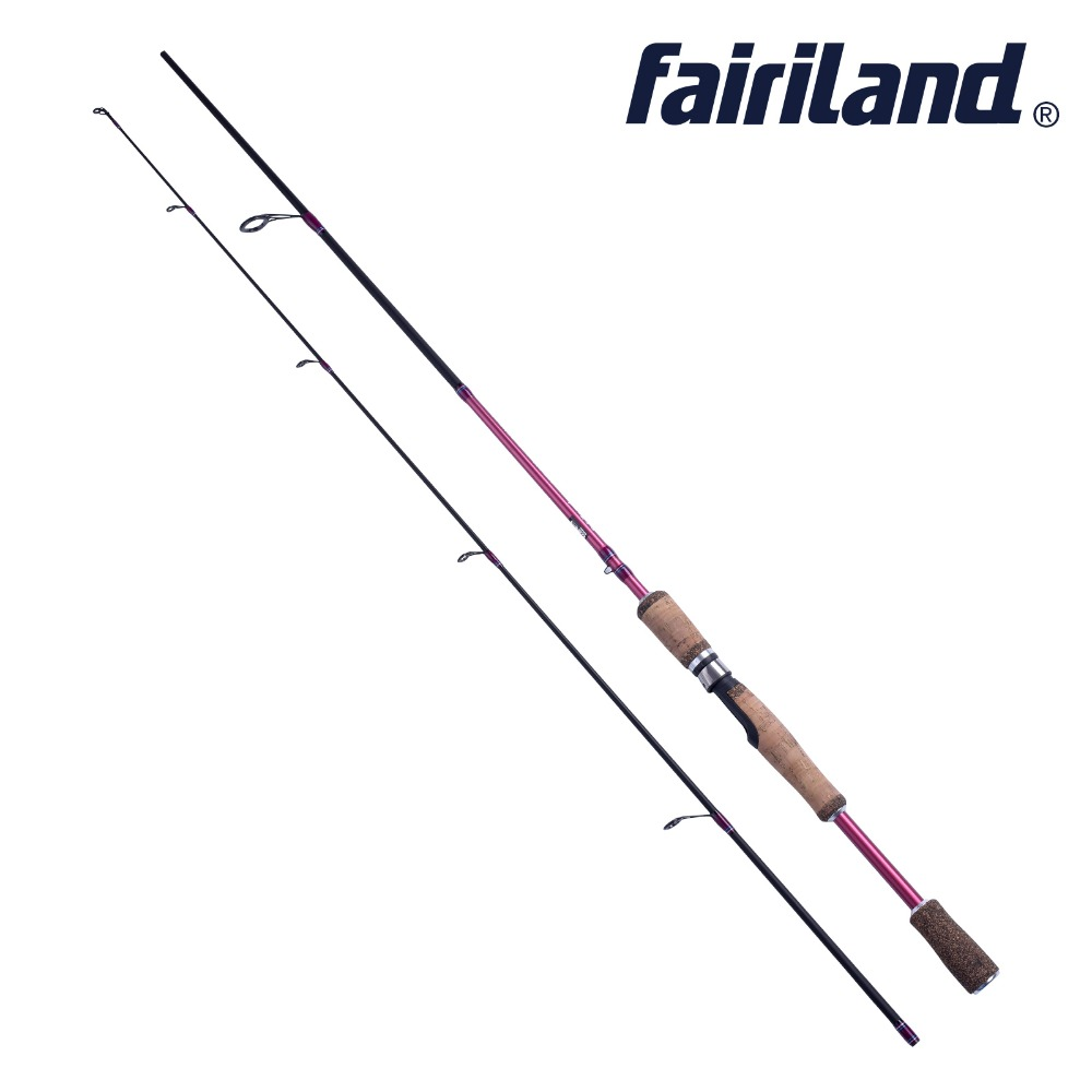Lure spinning rod M MH power high carbon fiber spinning rod 6 6 6 7ft lure