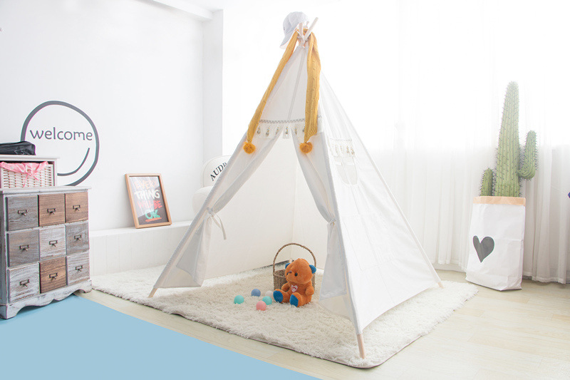 YARD Toy Tent Foldable Tipi Prince Folding Toys for Children Outdoor House Children foldable basketball tent