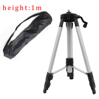 Laser Level Tripod Rod Adjustable Leveling Bubble 5 8 Inch Extension Rod And Adjustable Height Level