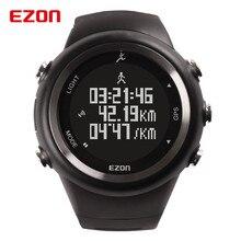 EZON GPS Al Aire Libre Correr Deporte 5atm reloj Contador de Calorías Podómetro Digital Hombres Mujeres A Prueba de agua Reloj Militar 2016 Nuevo