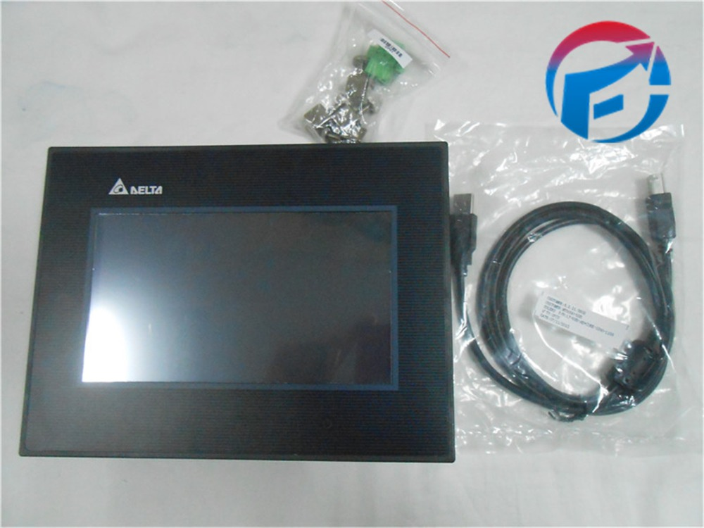 DOP-B07S411 HMI Touch Screen 7 inch 800*480 1 USB Host new in box with program Cable
