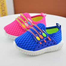 2017 Spring children's Running Shoes Net Surface Breathable Canvas Sneakers Boys Girls Baby flat-bottomed Casual Shoes 2