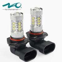 NAO H11 H8 H9 80W 9005 HB3 9006 HB4 H10 LED 1600lm Car Fog Light Bulbs