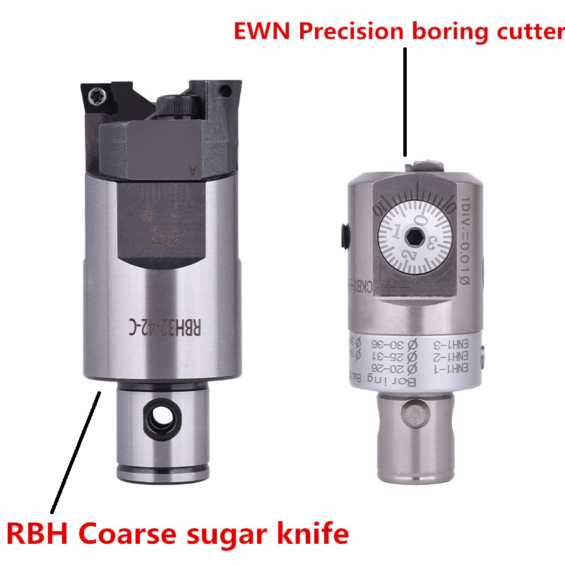 RBH Twin Bit RBH 52-70mm Twin-bit Rough Boring Head CCMT09T304 Used For Deep Holes Boring Tool New