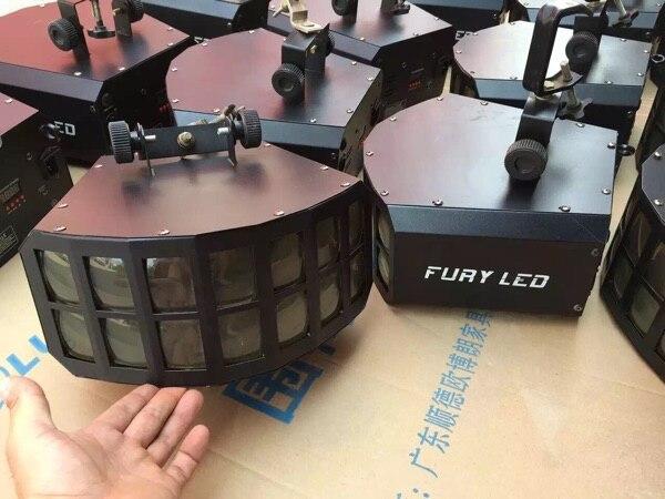 Новый высокой мощности двойной LED свет Бабочка бесконечное меч свет сканирования световой эффект