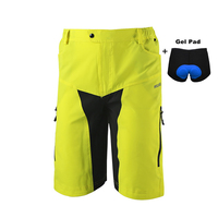 LOCLE High Quality Men Cycling Shorts Underwear Loose Fit MTB Shorts Mountain Road Bike Shorts Cycle