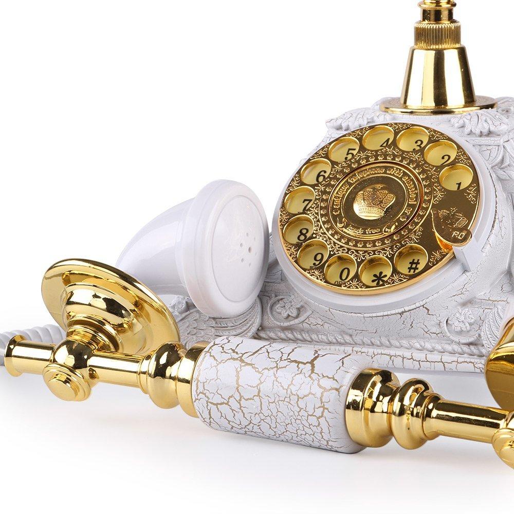 Téléphone Antique européen rétro Vintage cadran rotatif téléphone avec Redial téléphone fixe pour bureau téléphone maison salon-in Téléphones from Ordinateur et bureautique on AliExpress - 11.11_Double 11_Singles' Day 3