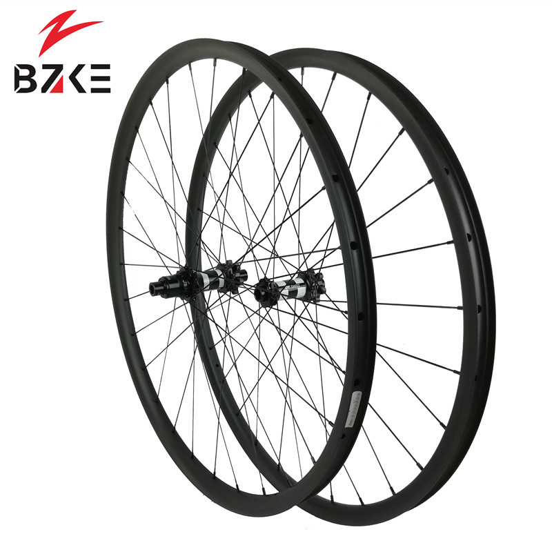 carbon mtb bicycle wheel 29 30mm width super light carbon wheelset MTB 29 inch carbon wheels