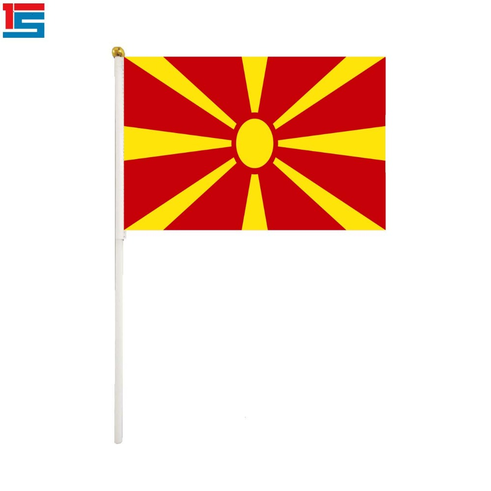 Macedonia Macedonian Flag State Country National Novelty Fridge Magnet
