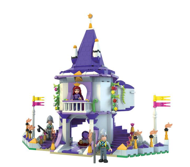 AIBOULLY 2017 New 450pcs Snow White Girls Series Queen's Palace Fight Inserted Toys Children Assembled Building Blocks puzzle toy building blocks assembled fight inserted toys