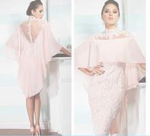 2016 frauen Abendkleid Mutter Der Braut Bräutigams Kleider mit jacke für abend dresshight hals Abendkleid spitze Ballkleid