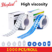 送料無料眼鏡 adhisive テープ 1000 個/ロール高粘度エッジング研磨ブロッキングパッドステッカー卸売