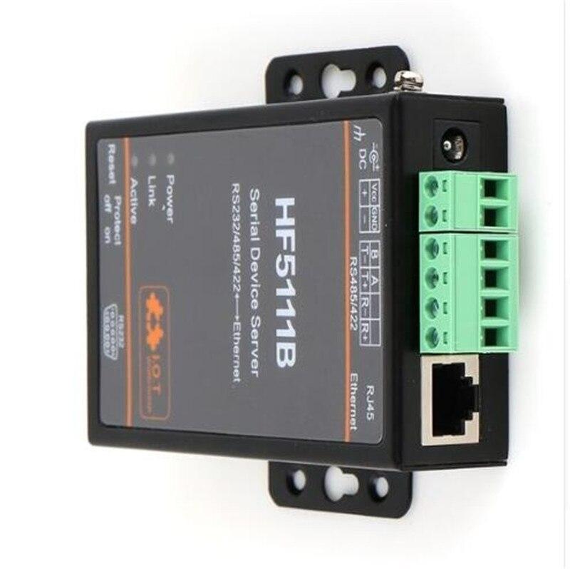 Wifimodule 5111B RJ45 RS232/485/422 série à Ethernet libre RTOS série 1 Port serveur convertisseur dispositif unité de connecteur industriel