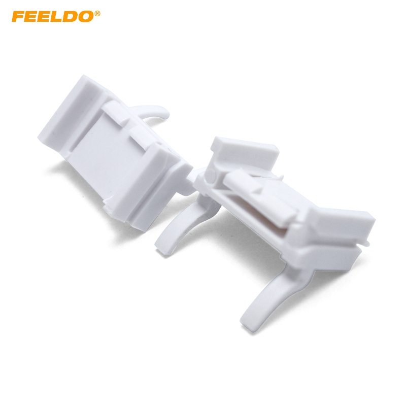 FEELDO 2PCS Car H7 HID Xenon Low Beam Installation Bulbs Socket Adapter For Ford Focus(2008-2011) #CA1340FEELDO 2PCS Car H7 HID Xenon Low Beam Installation Bulbs Socket Adapter For Ford Focus(2008-2011) #CA1340