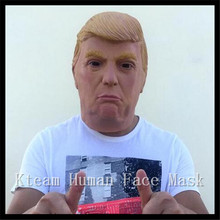 Christmas Party Cosplay Famous Celebrity Character Royals Comedians TV Presenters Props Donald Trump Overhead Masks in