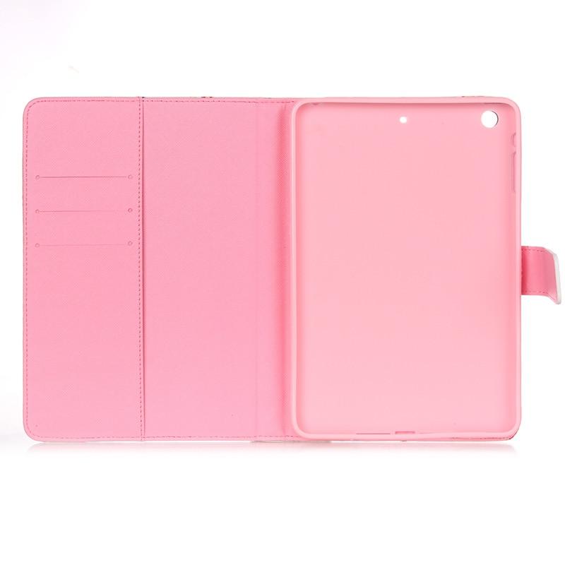 Apple iPad mini üçün 1 2 3 Case Moda PU Dəri Çanta iPad üçün - Planşet aksesuarları - Fotoqrafiya 6