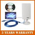Longa Distância Antena de Alto Ganho USB Placa de Rede Sem Fio Placa de Rede Wi-fi Adaptador de Antena Extender até 3000 m de distância