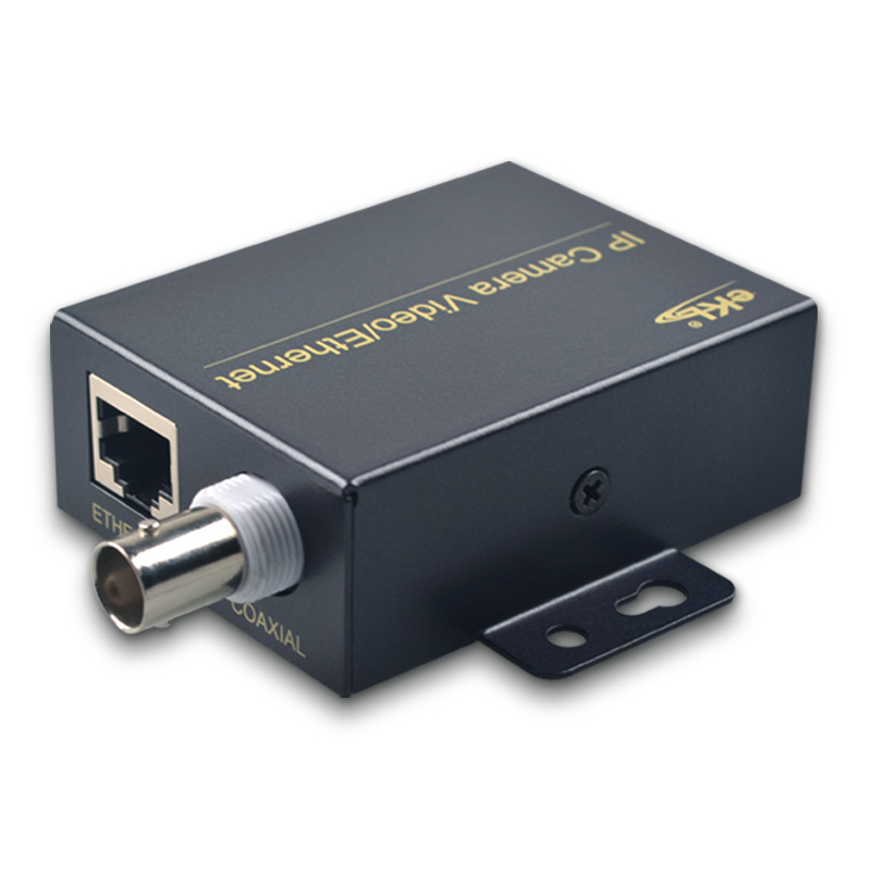 EKL Ethernt Over Coax Extender with 2KM transmission distance/IP video transmit over coaxial cable for IP security/CCTV camera mirabox coax hdmi ir extender support 1080p full hd 200m 300m 400ft over coaxial cable coax bnc port ir hdmi over coax coaxial