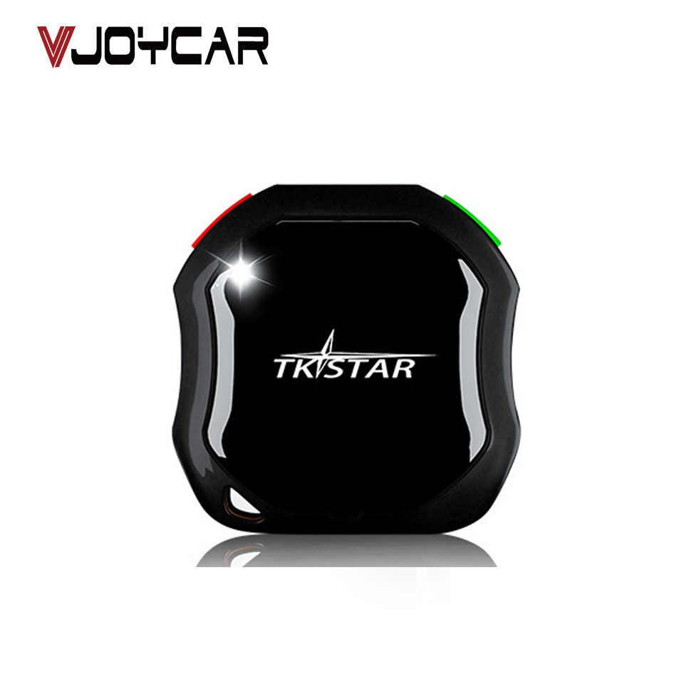 Мини-локатор TKSTAR, персональный GPS-трекер для домашних животных, TK109 TK, голосовой монитор со звездой, сигнал SOS, геозонирование в реальном времени, отслеживание карты Google