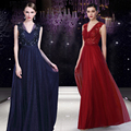 Celebrity Dresses 2017 Sexy Applique V Neck Sleeveless Half Backless Real Picture Evening Party Dress