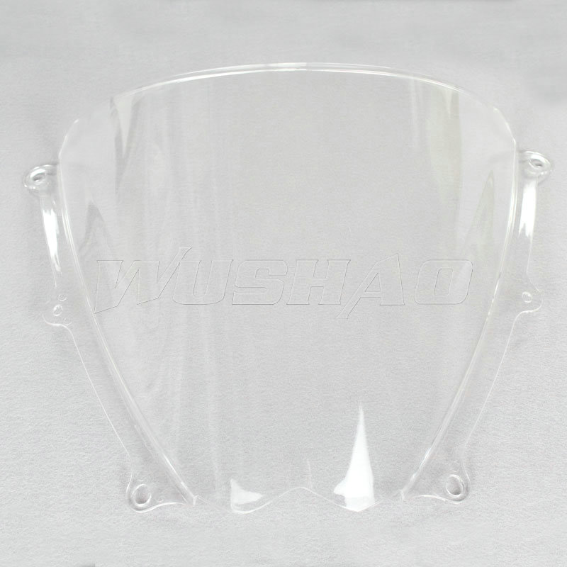 Motorcycle Double Bubble Windshield WindScreen For 2007
