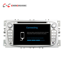 1024*600 Quad Core Android 6.0 Car DVD Player GPS for Ford Focus Mondeo Galaxy C-MAX with Radio Bluetooth Mirror link, WiFi 4G