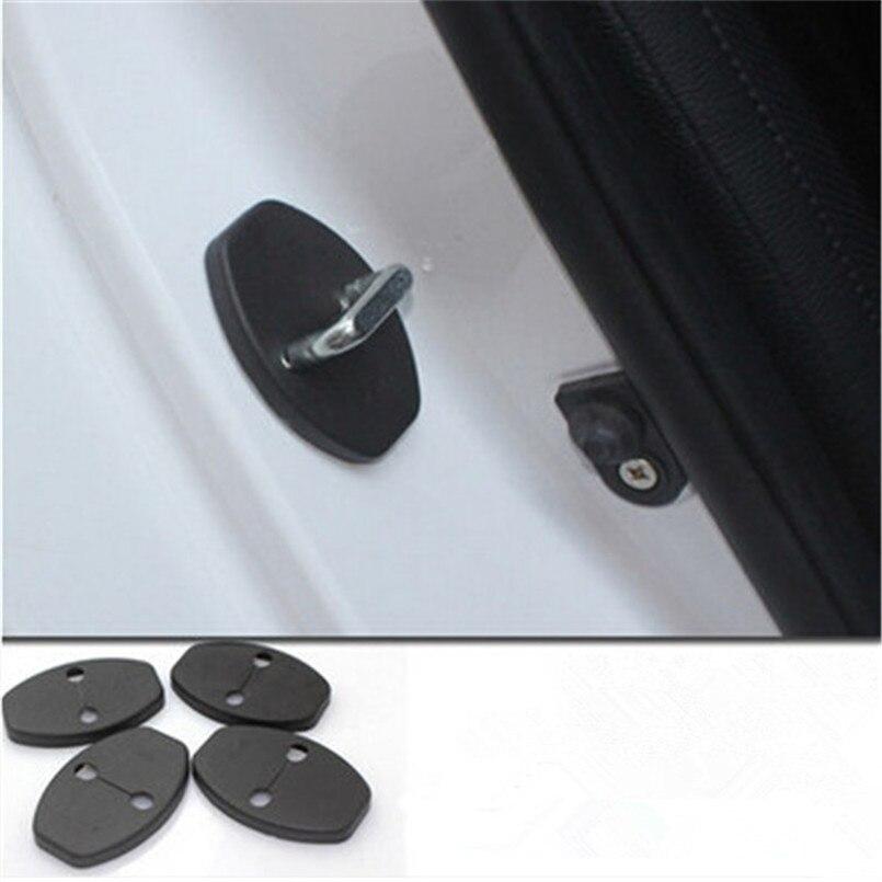 Cierre de puerta hebilla cubierta estilo de coche para Seat Ibiza Arosa Leon Toledo Alhambra Exeo FR Supercopa Mii Altea Corolla Cupra concepto
