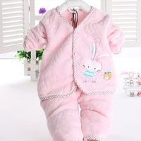 2015 Newborn Baby Clothing Kids Pajamas 3 Colors Autumn Children Clothing Baby Clothes Underwear Long Sleeve