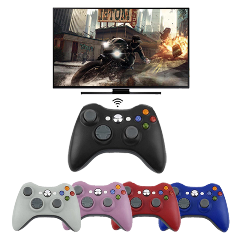 2.4G Wireless Remote Controller For Xbox 360 Computer With PC Receiver Wireless Gamepad For Xbox360 Joystick Controle Controller цена и фото