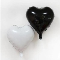 New Selling Free Shipping 18 Inch Heart Shaped Aluminum Foil Balloon 5 Packaging Wedding Birthday Party