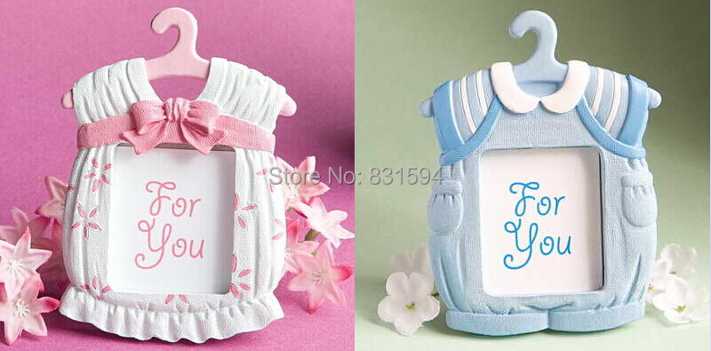 cute baby theme resin photo frame wedding favor bridal baby shower