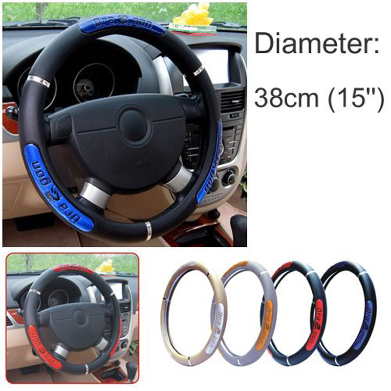 HuiER Dragon Design Auto Couverture De Volant De Voiture 5 Couleurs - Accessoires intérieurs de voiture - Photo 2