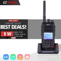 TYT MD 380 DMR Radio MD UV380 Tier1/2 UHF VHF Dual Band 5W Digital Walkie Talkie md380 MD 390 Baofeng DM 5R DM 8HX DMR