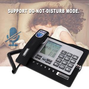 Image 2 - G026 Simple Style Fixed Telephone Landline Desk Phone for Home Office Desktop Telefono Fijo Portable