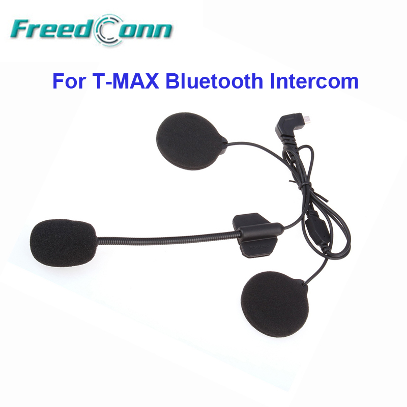 Headset Microphone Mic For FreedConn T-MAX Helmet Bluetooth Intercom For Open Face/Half Helmet/Flip Up Helmet