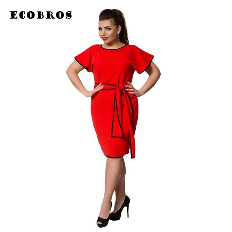 eee7fc1a145 Большие размеры 6XL 2019 Новое Женское однотонное Модное Элегантное  свободное платье для вечеринки женская одежда 6xl