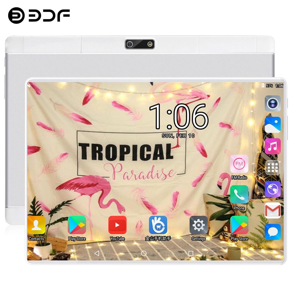 BDF 2020 New 10 Inch Android 7.0 Tablet PC 1280*800 Quad Core 1GB RAM 32GB ROM 5.0MP Dual SIM Card 3G Phone Call Pc Tablets 10.1