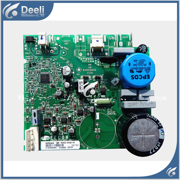 refrigerator bcd-559wyj zu z bcd-539ws nh frequency conversion control board computer driver board good working for embraco refrigerator pc board computer board used bcd 558wa bcd 558wyjz 0064001350 frequency conversion board