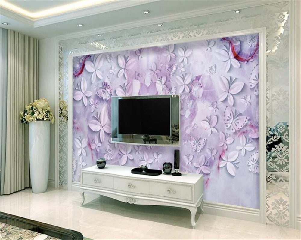Good Wallpaper Marble Lilac - Beibehang-3D-wallpaper-beautiful-butterfly-purple-marble-texture-background-decoration-painting-room-bedroom-TV-background-mural  Graphic_47613.jpg