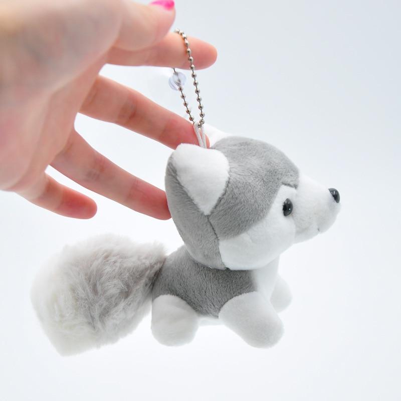 Kawaii Puppy Stuffed Toys 10cm Cute Simulation Husky Dog Plush Toys Stuffed Doll Kids Baby Toys Plush Husky Dolls