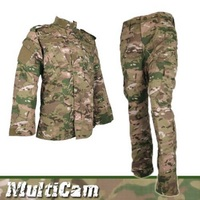 Multicam Uniform Army Military Tactical BDU Uniforms Camouflage Battlefield Airsoft Paintball Hunting Clothing Combat Suit