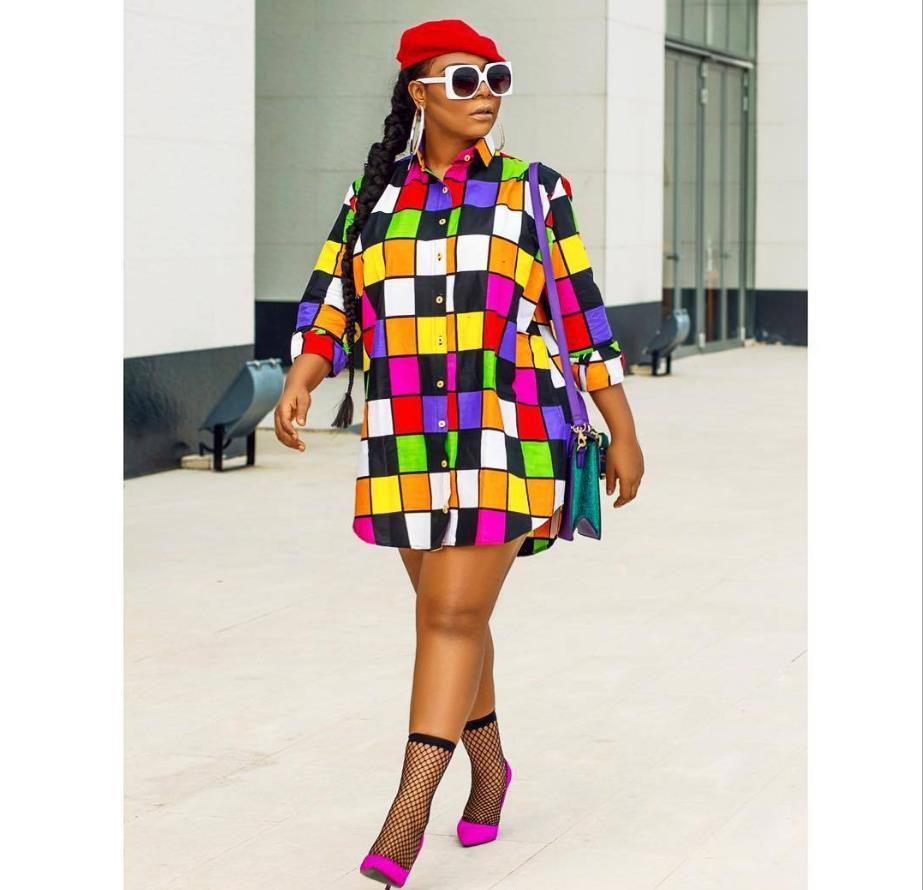 2018 African Clothing Dresses Sexy Retro National Big Auspicious Dashiki Fashion Loose Shirt