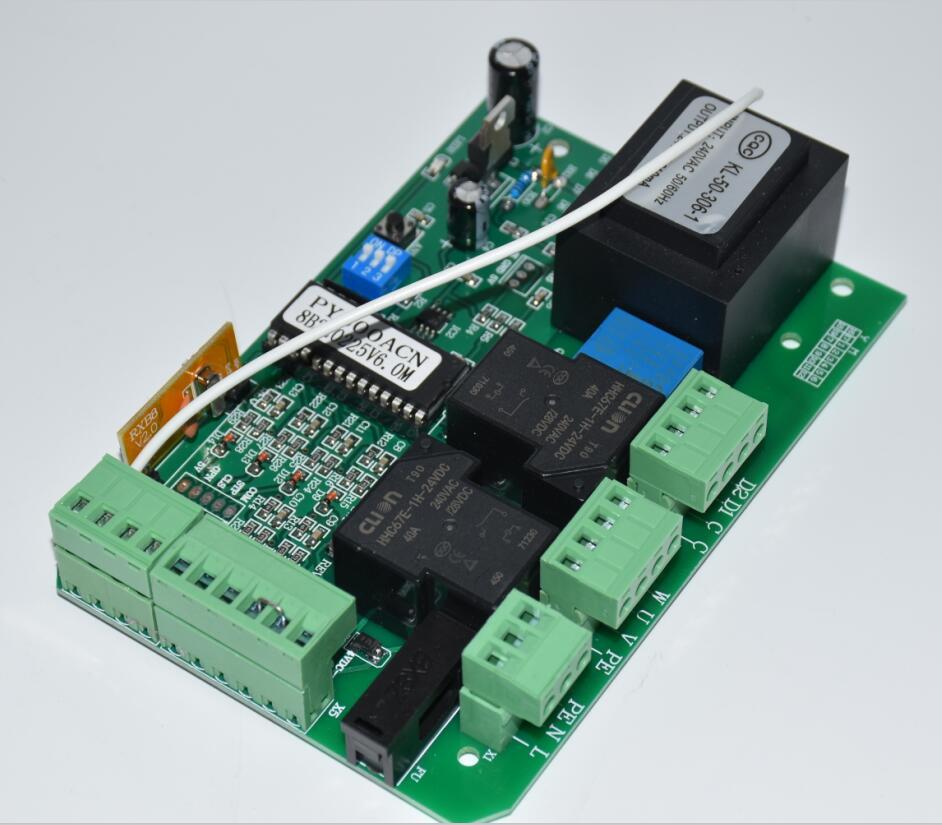 Schuifpoort opener AC motor control unit PCB controller printplaat elektronische kaart (PY600ac SL600 SL1500 PY800 model)-in Toegangscontrolekits van Veiligheid en bescherming op AliExpress - 11.11_Dubbel 11Vrijgezellendag 3