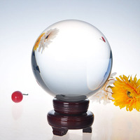 150mm Natural Quartz Clear Crystal glass Ball Feng Shui Chakra Healing Gemstone Sphere Magic Ball for home decor Birthday Gift