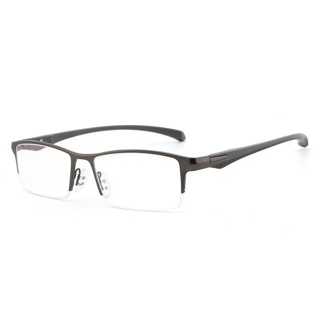 225b583de4d44a HDCRAFTER TR90 lunettes cadre Titane Rayonnement Protection HD Lunettes  Cadre Lunettes D ordinateur Hommes UV400 Lunettes Lunettes