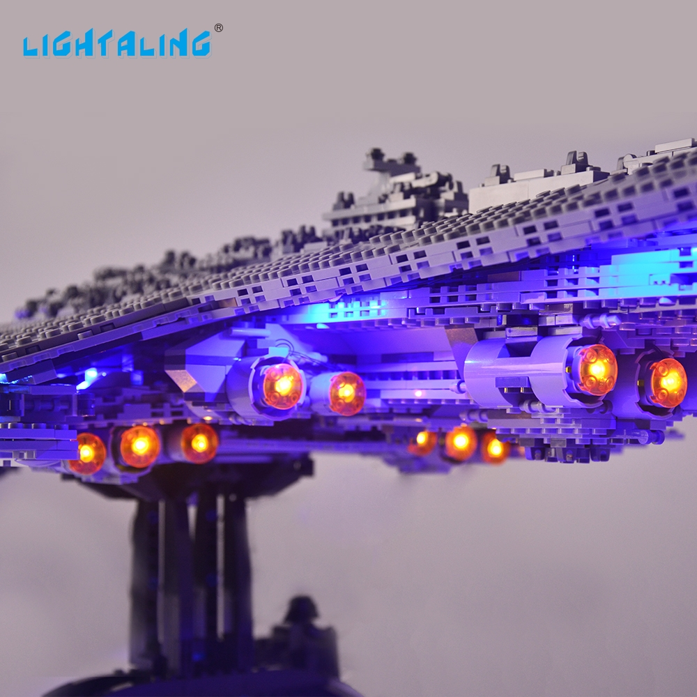 LIGHTALING Led Lighting Kit For Super Star Destroyer Lighting Set Compatible With 10221 And 05028 (NOT Include The Model)