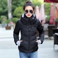 2018 New Ladies Fashion Coat Winter Jacket Women Outerwear Short Wadded Jacket Female Padded Parka Women